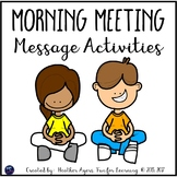 Morning Meeting Activities {Number & Word of the Day Routines}
