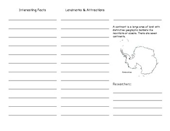 Continent Research Brochure