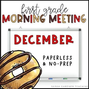 First Grade Morning Meetings - December