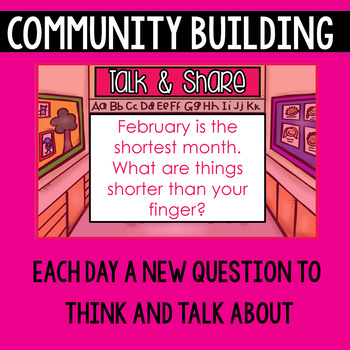 Morning Meeting Messages for February