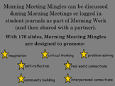 Morning Meeting Mingles: Student Conversation Starters