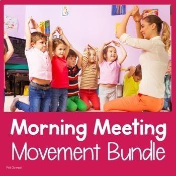 Morning Meeting Movement Bundle