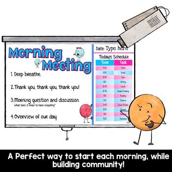 Morning Meeting Pack- 180 Days of Morning Meetings