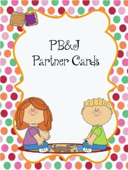 Morning Meeting Partner Cards