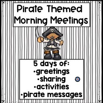 Morning Meeting Pirate Week