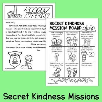 Kindness Weeklong Morning Meeting Plans