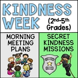 Kindness Week Activities and Morning Meeting Plans