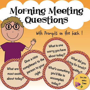 Morning Meeting Questions & Prompts
