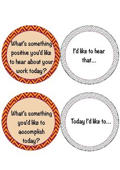 Morning Meeting Questions for a Student-Led Meeting + Prompts!
