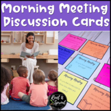 Morning Meeting SEL Discussion Prompts for Community and R