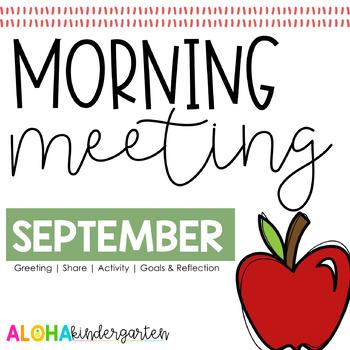 Morning Meeting: SEPTEMBER