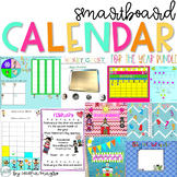 Morning Meeting SMARTBoard Calendar for the Year