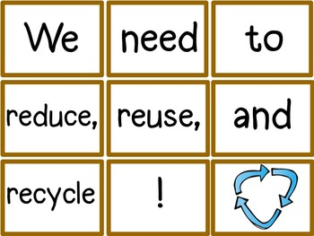 Morning Meeting Sentence Building Activity! *April Edition* ~Earth Day/Spring