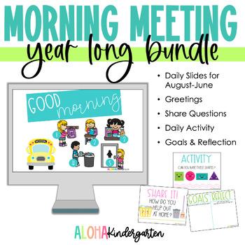 Morning Meeting Slides: BUNDLE