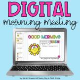 Morning Meeting Slides - Digital Morning Meeting