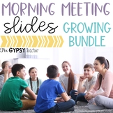 Morning Meeting Slides Bundle