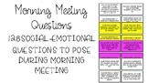 Morning Meeting Social-Emotional Task Cards
