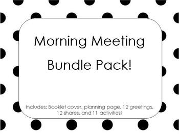 Morning Meeting Bundle