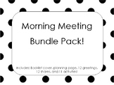 Morning Meeting Bundle