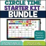 Special Education Morning Meeting Kit for Preschool & Elementary