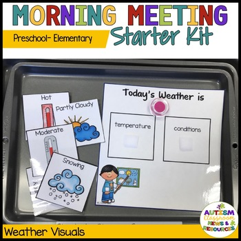 Special Education Morning Meeting Kit for Preschool & Elementary
