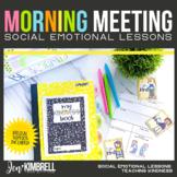 CLASSROOM COMMUNITY MORNING MEETING TEACHING KINDNESS