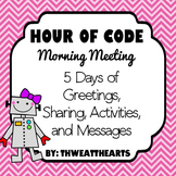 Morning Meeting Unplugged Hour of Code
