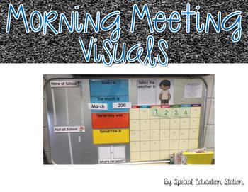 Morning Meeting Visuals