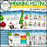 Morning Meeting - Winter/Christmas Bitmoji
