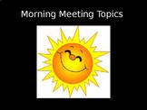 Morning Meeting (Year Long) Jumbo Bundle