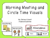 Morning Meeting and Circle Time Visuals for Special Education