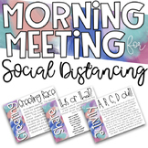 Morning Meeting for Social Distance