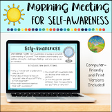 Morning Meeting for Social Emotional Learning: Self-Awareness