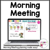 Morning Meeting for Zoom or Google Meet