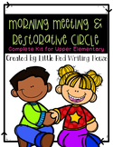 Morning Meeting {for grades 3-5}