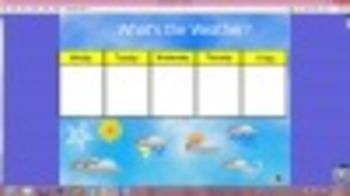 Morning Meeting/Calendar/Center Flipchart for Promethean Board Activinspire