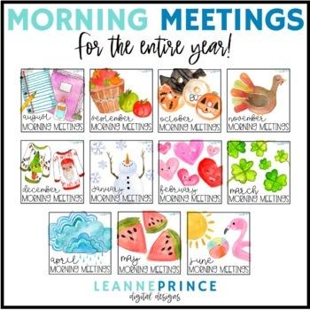 Morning Meetings BUNDLE