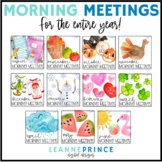 Morning Meetings BUNDLE - Distance Learning - Online Learning