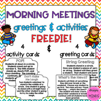 Morning meetings greetings and activities freebie tpt morning meetings greetings and activities freebie m4hsunfo