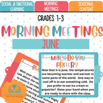Morning Meetings: June