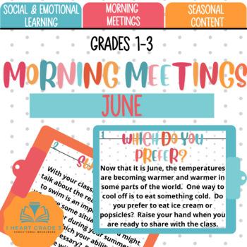 Morning Meetings: June
