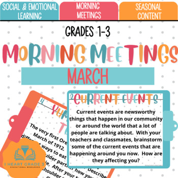 Morning Meetings: March