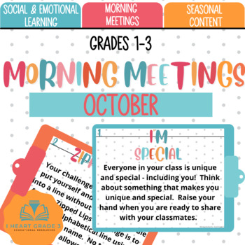Morning Meetings: October