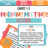 Morning Meetings: October