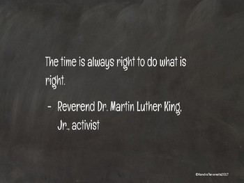Black History Month Slides - Quote of the Day - Morning Meetings