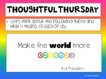 Image result for thoughtful thursday ideas