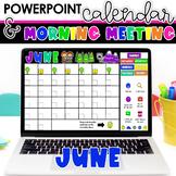 Morning Meetings for Kindergarten and 1st Grade   June