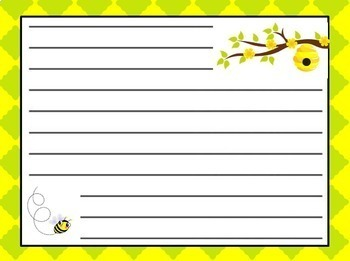 June Morning Message - Bee Theme Work for Traditional and Digital Classrooms!