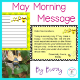 June Morning Message - Bee Theme Work for Traditional and