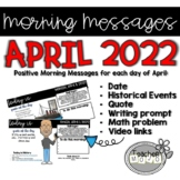 Morning Message April Bell Ringers